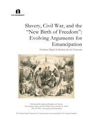 Slavery, Civil War, and the - Digital Resources and Publications ...