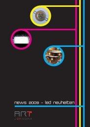 News 2009 - led neuheiten - Art Lichttechnik