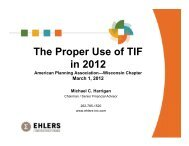 The Proper Use of TIF in 2012 - American Planning Association ...