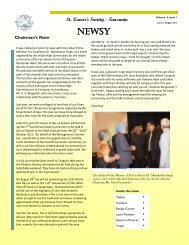 the latest edition of our news letter - Newsy - Goan Voice, Canada
