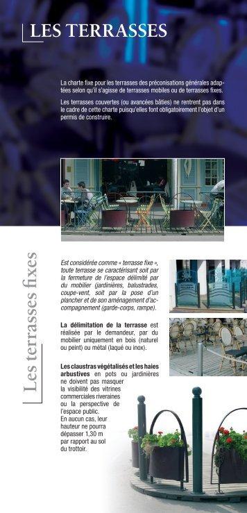 terrasses et mobilier - Lorient