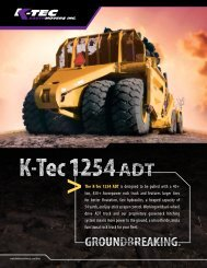 K-Tec 1254 ADT - Worldwide Machinery