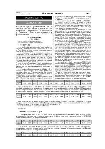 Separata de Normas Legales - Grupo Propuesta Ciudadana