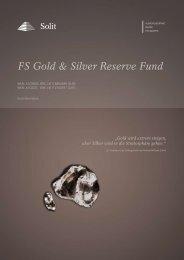 FS Gold & Silver Reserve Fund
