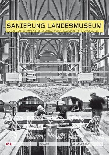 SANIERUNG LANDESMUSEUM
