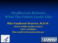 Health Reform and Parity: What The Future Looks Like