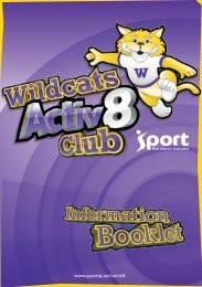 Wildcats are on the prowl in the following local authority areas