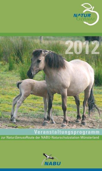 2012 Veranstaltungsprogramm - NABU-Naturschutzstation ...
