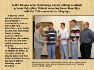 Bullitt County Area Technology Center welding students ... - KY Tech