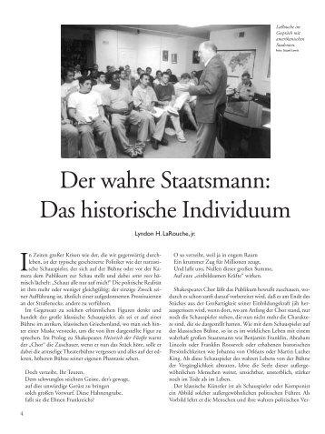 Das historische Individuum