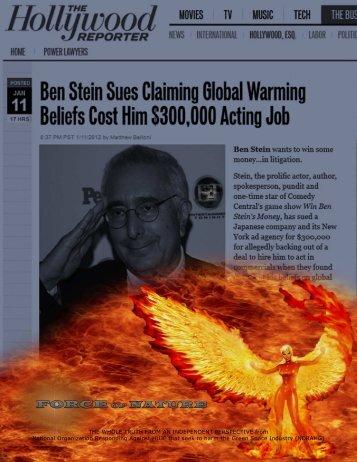 Global Warming — 2012 01 12 — STRIKING ... - Pesticide Truths