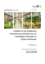 Nachhaltige Produkte im Gartenfachhandel positionieren
