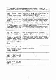 Odůvodnění účelnosti veřejné zakázky podle § 2 vyhlášky č ...
