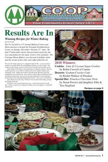 Results Are In - Potsdam Food Co-op