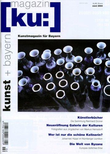 Kunst + Bayern, KU Magazin Nr2   2004   PDF German - Heinsdorff ...