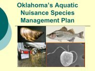 Curtis Tackett - Oklahoma Biological Survey