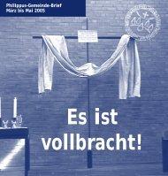 Es ist vollbracht - Evangelische Philippus-Kirchengemeinde Köln ...