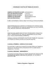 CONVENÇÃO COLETIVA DE TRABALHO 2012/2013 ... - Sinaenco
