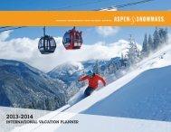 INTERNATIONAL VACATION PLANNER - Aspen Snowmass