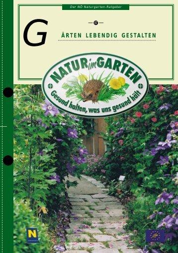 ärten lebendig gestalten g - Natur im Garten