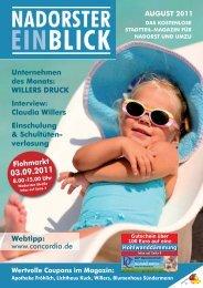 Claudia Willers Einschulung & Schultüten - Nadorster Einblick