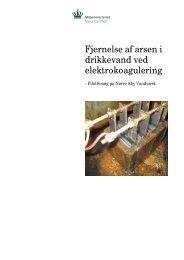 Fjernelse af arsen i drikkevand ved elektrokoagulering