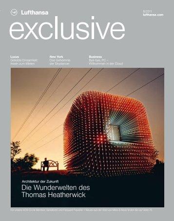 Die Wunderwelten des Thomas Heatherwick - Lufthansa Media ...