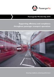 Passengerfta membership form - Freight Transport Association