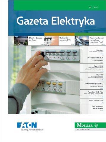 Gazeta Elektryka 2010 - Moeller