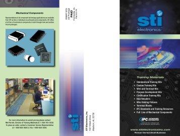Training Materials - STI Electronics, Inc.