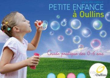 Guide de la petite enfance à Oullins - Ville d'Oullins