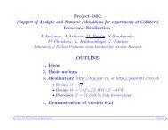 Project SANC: Ideas and Realization A.Andonov, A ... - SANC - JINR