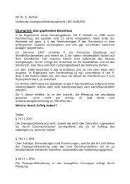 PD Dr. K. Richter Vorlesung ... - Dr. Klaus Richter