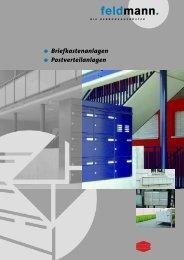 Katalog herunterladen (PDF, 5.8MB) - E. Feldmann AG