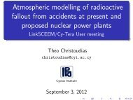 Atmospheric modelling of radioactive fallout from ... - LinkSCEEM