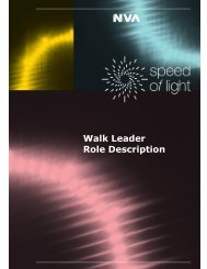 Walk Leader Role Description.pdf - Speed of Light