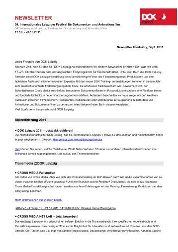 newsletter - DOK Leipzig