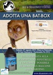 ADOTTA UNA BAT-BOX - Year of the Bat