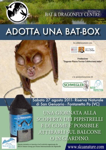 ADOTTA UNA BAT-BOX - Year of the Bat