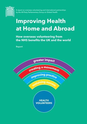 Improving Health at Home and Abroad - Final Report-2