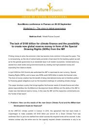 The lack of $100 billion for climate finance and ... - EuroMemo Group