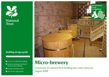 Micro-brewery - National Trust