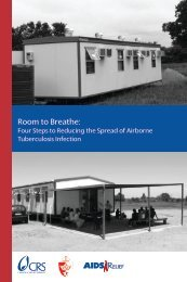 Room to Breathe: - CRS Technical Resources