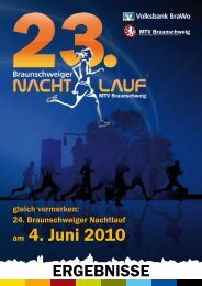 am 4. Juni 2010 - Braunschweiger Nachtlauf