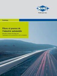 Pièces et process de l'industrie automobile