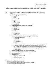 Zusammenstellung anlagen - ZLS
