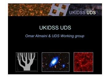 UKIDSS UDS - AstroGrid wiki