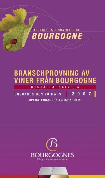 Vinbog Bourgogne (Page 1) - Nordic Wine Institute