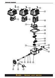 Base - Rotary limit switch - Elma BV