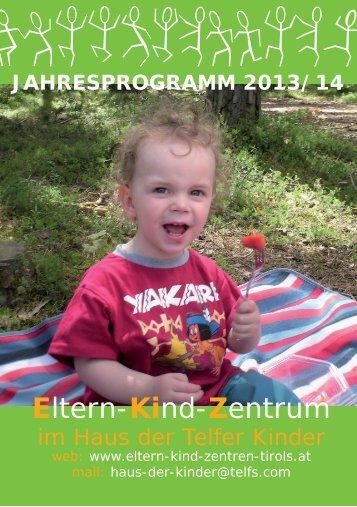 EKiZ 2013_14 - Haus der Telfer Kinder